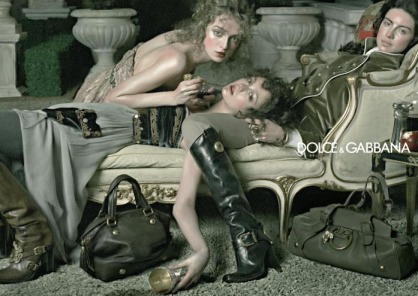 Dolce and Gabbana- photo Steven Meisel